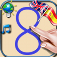 Write the numbers from 0 to 9 for children for iPhone and iPod - Learn to count with the sounds of numbers in English and Spanish